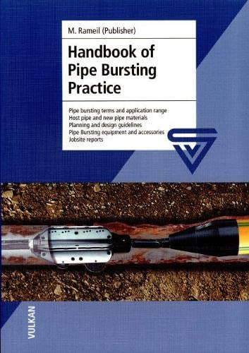 9783802727504: Handbook of Pipe-Bursting Practice