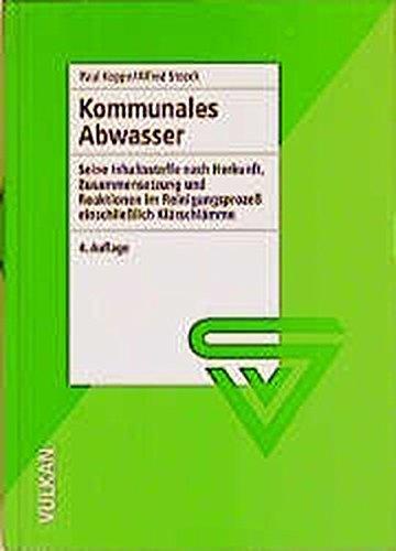 Kommunales Abwasser (Paperback): Paul Koppe