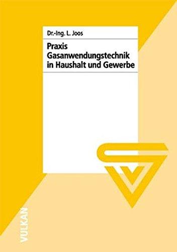 Praxis der Gasanwendungstechnik in Haushalt und Gewerbe: Lajos Joos