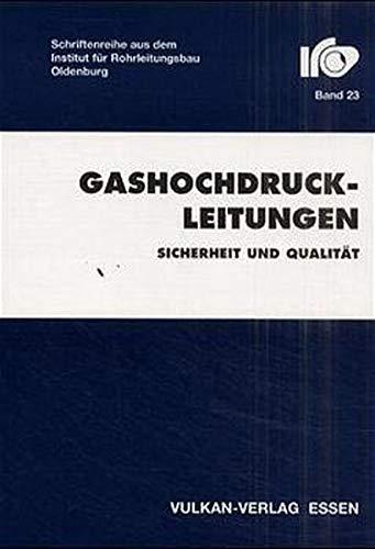 9783802753800: Gashochdruckleitungen