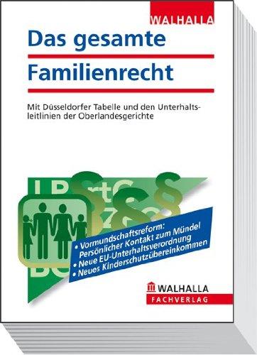 9783802919336: Das gesamte Familienrecht Ausgabe 2013: Mit den Neuerungen des FGG-Reformgesetzes