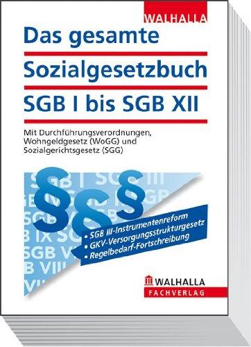 9783802919404: Das gesamte Sozialgesetzbuch SGB I bis SGB XII: Mit Durchführungsverordnungen, Wohngeldgesetz (WoGG) und Sozialgerichtsgesetz (SGG); Erscheint zweimal jährlich; Abonnenten haben besondere Vorteile!