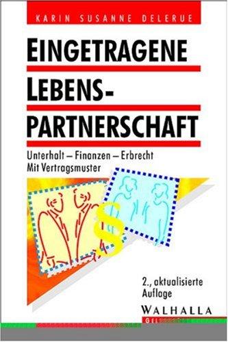 9783802937538: Eingetragene Lebenspartnerschaft.