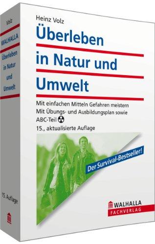 9783802964374: Überleben in Natur und Umwelt