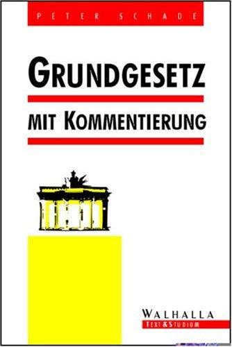 9783802971778: Grundgesetz mit Kommentierung.