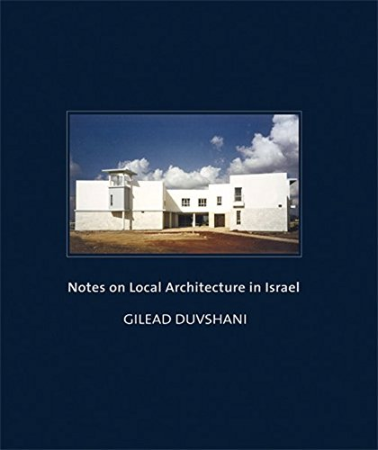 9783803006899: Notes on Local Architecture in Israel