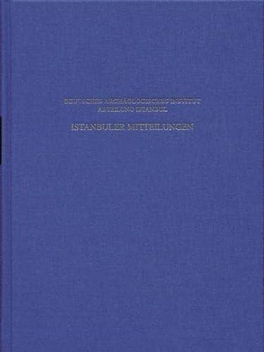 Istanbuler Mitteilungen. Bd 46/1996