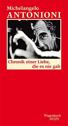 9783803112903: Chronik einer Liebe, die es nie gab: Erz�hlungen