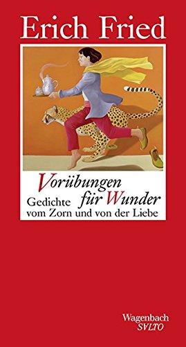 9783803113108: Vorübungen für Wunder: Gedichte vom Zorn und von der Liebe