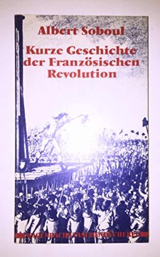 9783803120236: Kurze Geschichte der französischen Revolution