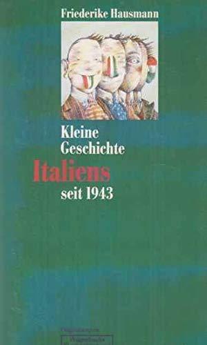 9783803121592: Kleine Geschichte Italiens seit 1943
