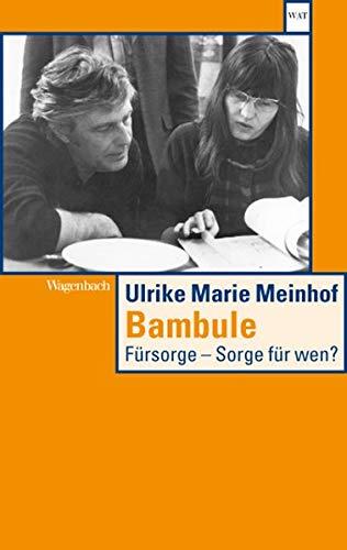 Bambule: Fürsorge - Sorge für wen? - Meinhof Ulrike Marie