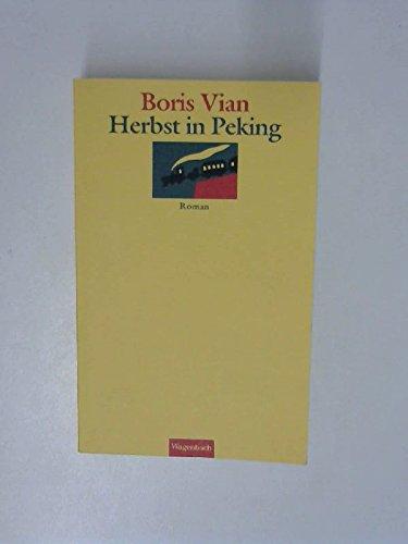 Vian Boris Herbst Peking Abebooks