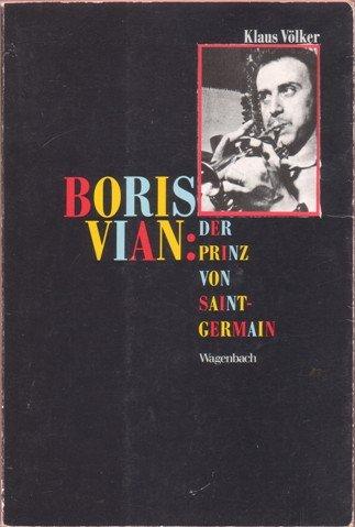 9783803135506: Boris Vian, Der Prinz von Saint Germain