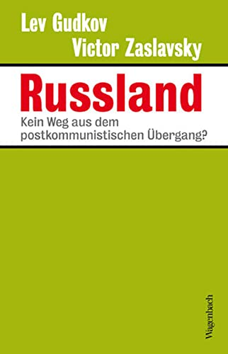 9783803136350: Russland: Kein Weg aus dem postkommunistischen Übergang?