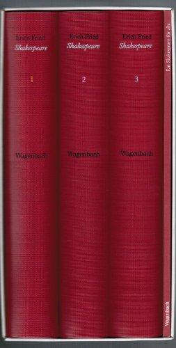 27 Stücke. in der Übersetzung von Erich: Shakespeare, William.