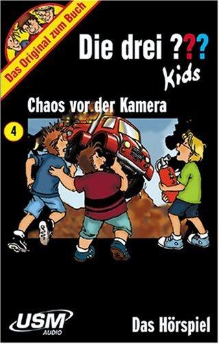 9783803232533: Folge 4: Chaos Vor der Kamera [Musikkassette]