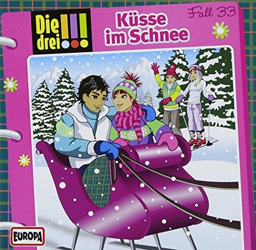 9783803237828: Die drei !!! 33. Küsse im Schnee (drei Ausrufezeichen)