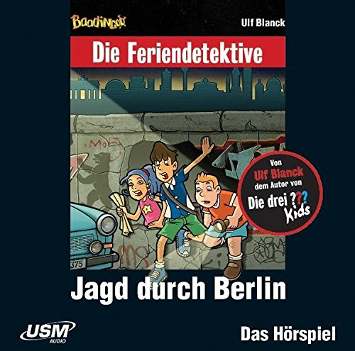 9783803239099: Feriendetektive: Jagd durch Berlin (Audio-CD)