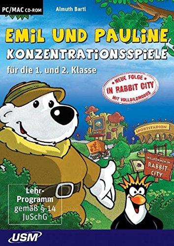 9783803241115: Emil & Pauline Konzentrationsspiele für die 1. und 2. Klasse