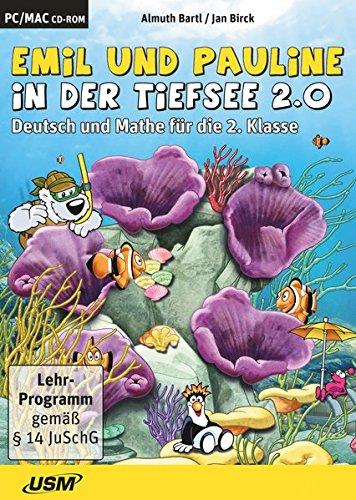 9783803244383: Emil und Pauline in der Tiefsee 2.0 - Deutsch und Mathe für die 2. Klasse (CD-ROM) [Importación alemana]