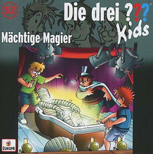 9783803260345: Die drei ??? Kids 52. Mächtige Magier (drei Fragezeichen) CD