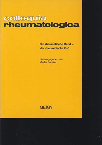 Colloquia rheumatologica . Knorpelschaden - Knorpelschutz, (Schriftenreihe: Gerlach, U., H.H.