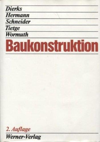 9783804113473: Baukonstruktion