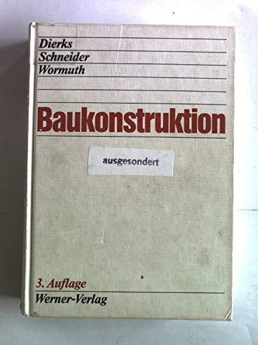 9783804113657: Baukonstruktion