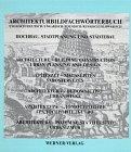 9783804115880: Architektur: Hochbau- Statdplanung und Städtebau. Bildwörterbuch Englisch- Deutsch- Ungarisch- Polnisch- Russisch- Slowakisch.