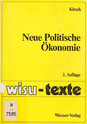 9783804123885: Neue Politische Ökonomie