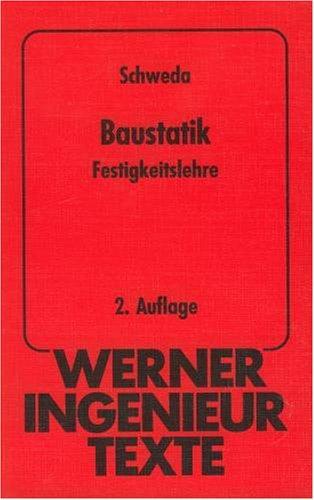 Erwin schweda zvab for Baustatik buch