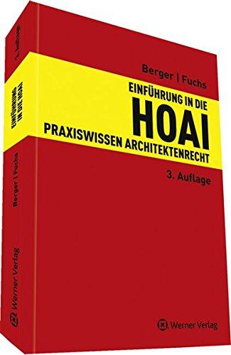 9783804145191: Einführung in die HOAI