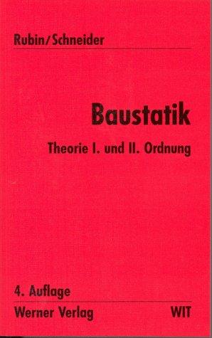 9783804146372: Werner-Ingenieur-Texte (WIT), Bd.3, Baustatik