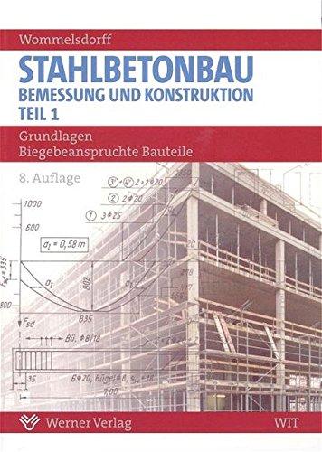 9783804150041: Stahlbetonbau. Bemessung und Konstruktion 1