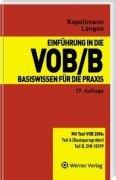 9783804151857: Einführung in die VOB/B: Basiswissen für die Praxis
