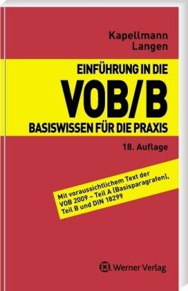 9783804151970: Einführung in die VOB/B