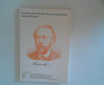 9783804202542: Schriften der Theodor-Storm-Gesellschaft