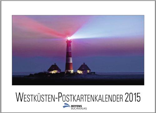 9783804213913: Westküsten-Postkartenkalender 2015