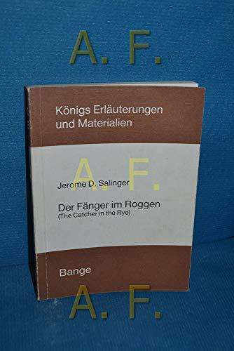 Der Fänger im Roggen: Salinger, Jerome D