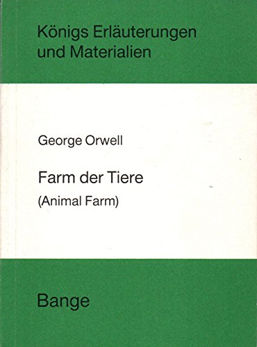 9783804402287: Farm der Tiere. (Animal Farm)