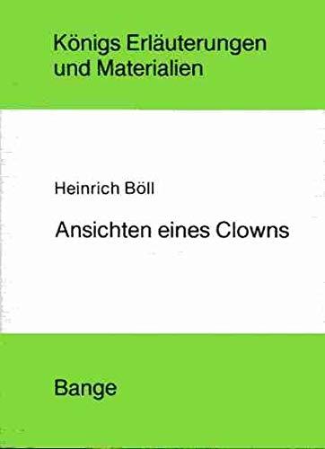 Ansichten eines Clowns: Heinrich Böll