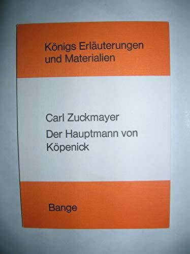 Der Hauptmann von Köpenick: Zuckmayer, Carl