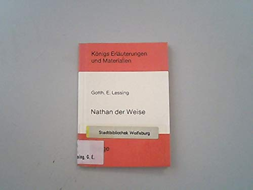 9783804403895: Nathan der Weise