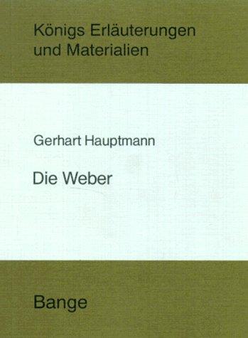 9783804404052: Die Weber (German Edition)