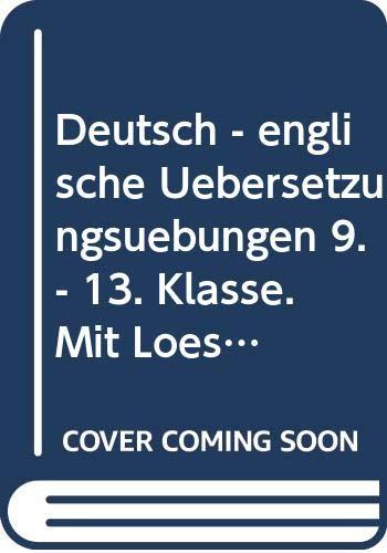 Deutsch-Englische Übersetzungsübungen: Meyer, Jürgen