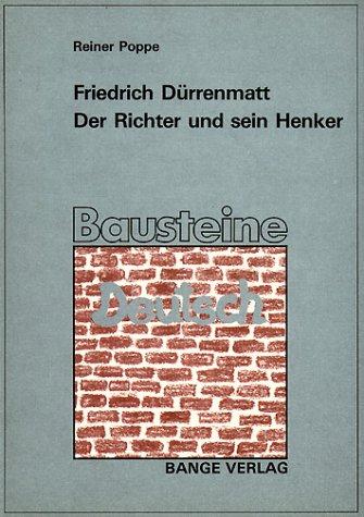 9783804406612: Der Richter und sein Henker. (Lernmaterialien)