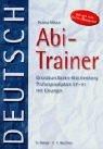 9783804414426: Der Abi-Trainer, Deutsch, Grundkurs Baden-Württemberg