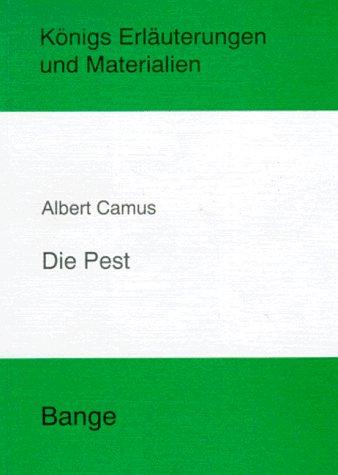9783804416062: Die Pest. Erläuterungen und Materialien. (Lernmaterialien)