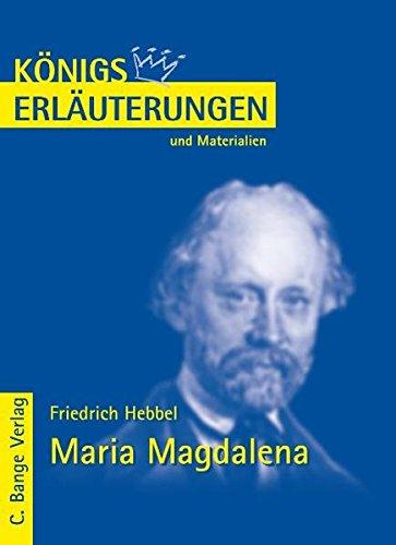 9783804416680: Maria Magdalena. Erläuterungen und Materialien: Erläuterungen und Materialien